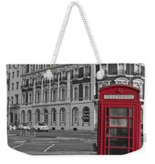 Isolated Phone Box Weekender Tote Bag