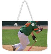 Isotopes Batter Takes Off Weekender Tote Bag
