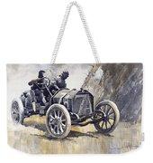 Isotta Fraschini 50hp 1908 Targa Florio  Weekender Tote Bag