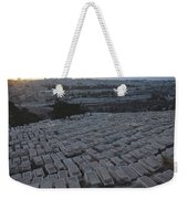 Israel, Jerusalem Mount Of Olives Weekender Tote Bag