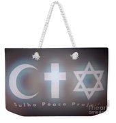 Israel Palestinian Cooperation  Weekender Tote Bag