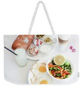 Israeli Breakfast Weekender Tote Bag