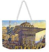 Istanbul Outdoor Bazaar Weekender Tote Bag