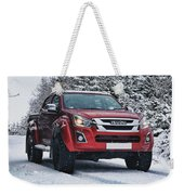 Isuzu In The Snow Weekender Tote Bag