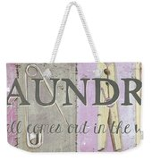 It All Comes Out In The Wash Weekender Tote Bag