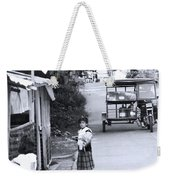 It All Passes You Tyre Weekender Tote Bag