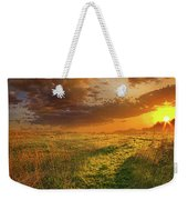 It Hitches The Soul To The Stars Weekender Tote Bag