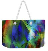 It Is About Time Intersecting Wondrous Cross Weekender Tote Bag