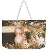 It Is Christmas 3 Weekender Tote Bag