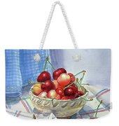 It Is Raining Cherries Weekender Tote Bag