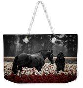 It Was A Dark And Rainy Night Weekender Tote Bag