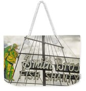 It Was A Dark And Stormy Afternoon Weekender Tote Bag