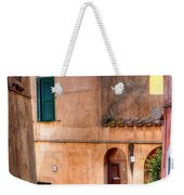 Italian Alley Weekender Tote Bag