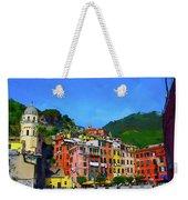 Italian Beachside  Weekender Tote Bag