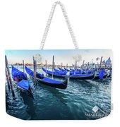 Italian Blue Weekender Tote Bag