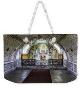 Italian Chapel Interior Weekender Tote Bag