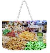 Italian Farmers Market Dried Fruits Weekender Tote Bag