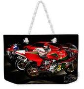 Italian Garage Weekender Tote Bag