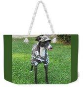 Italian Greyhound Army Weekender Tote Bag