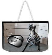 Italian Greyhound Bad Boy Weekender Tote Bag