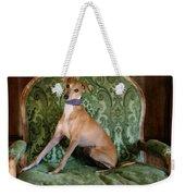 Italian Greyhound Portrait Weekender Tote Bag