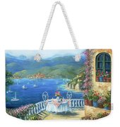 Italian Lunch On The Terrace Weekender Tote Bag
