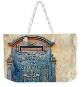 Italian Mailbox Weekender Tote Bag