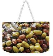 Italian Market Olives Weekender Tote Bag
