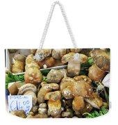 Italian Market Porcini Mushrooms  Weekender Tote Bag