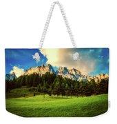 Italian Mountain Meadow Weekender Tote Bag