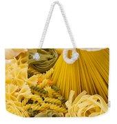 Italian Pasta Weekender Tote Bag