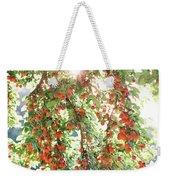 Italian Plum Tree Weekender Tote Bag