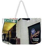 Italian Speakesy Weekender Tote Bag