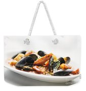 Italian Traditional Seafood Stew  Weekender Tote Bag