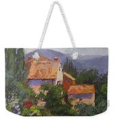 Italian Village Weekender Tote Bag