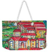 Italian Village On A Hill Weekender Tote Bag