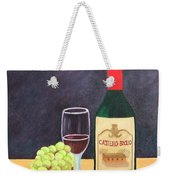 Italian Wine And Fruit Weekender Tote Bag