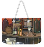 Italian Wine Press Weekender Tote Bag