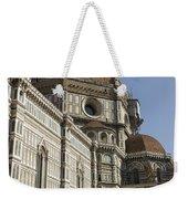 Italy, Florence, Facade Of Duomo Santa Weekender Tote Bag