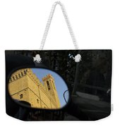 Italy, Florence, Reflection In Mirror Weekender Tote Bag