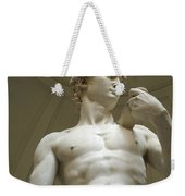 Italy, Florence, Statue Of David Weekender Tote Bag