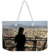 Italy, Florence, Tourist Looks Weekender Tote Bag