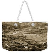 Italy From Above Weekender Tote Bag