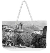 Italy: Tivoli, 1832 Weekender Tote Bag