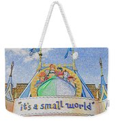It's A Small World Entrance Original Work Weekender Tote Bag