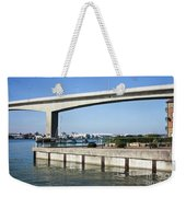 Itchen Bridge Southampton Weekender Tote Bag