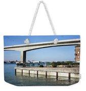Itchen Bridge Southampton Weekender Tote Bag