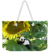 It's A Big Sunflower Weekender Tote Bag
