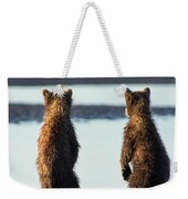 It's A Big World Out There Weekender Tote Bag