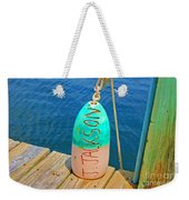 Its A Buoy Weekender Tote Bag
